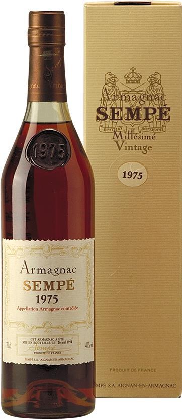 Armagnac 1975 Sempé (3762)
