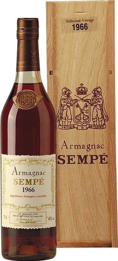 Armagnac 1966 Sempé