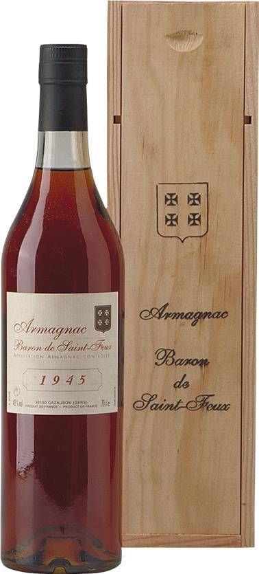 Armagnac 1945 Baron de Saint-Feux (3775)