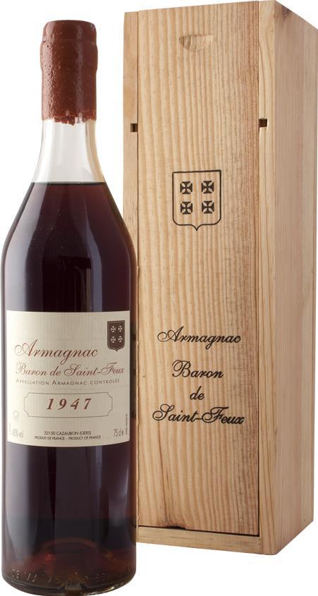 Armagnac 1947 Baron de Saint-Feux (3790)