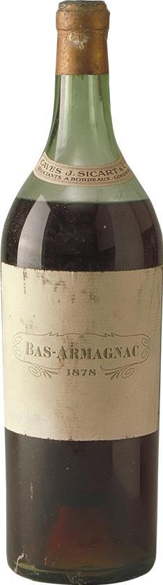 Armagnac 1878 Sicart 2.5L (20106)