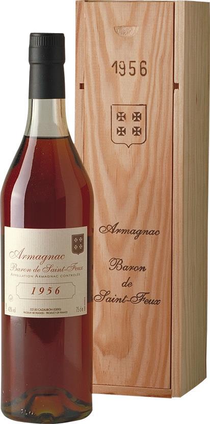 Armagnac 1956 Baron de Saint-Feux (3802)
