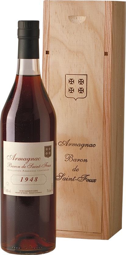 Armagnac 1948 Baron de Saint-Feux (3803)