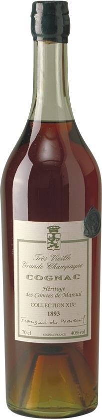 Cognac 1893 Comtes de Mareuil (3821)