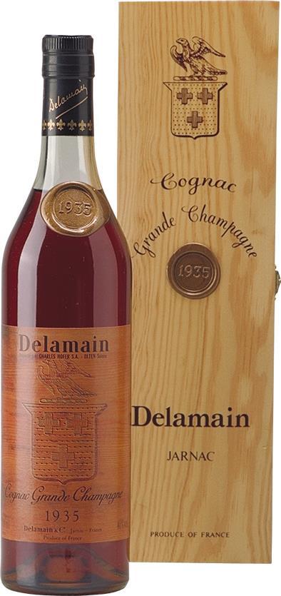 Cognac 1935 Delamain Grande Champagne (3835)