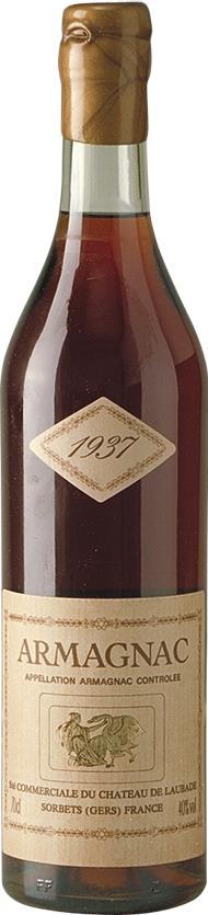 Armagnac 1937 Château de Laubade (3836)