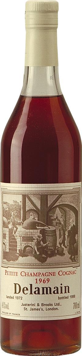 Cognac 1969 Delamain Petite Champagne (3867)
