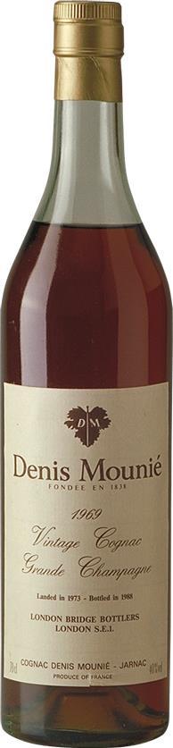 Cognac 1969 Denis-Mounié Grande Champagne (3879)