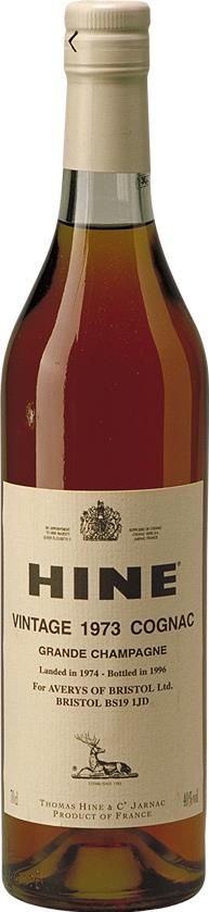 Cognac 1973 Hine Grand Champagne Averys (3889)