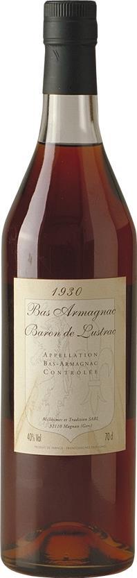 Armagnac 1930 Baron de Lustrac (3909)