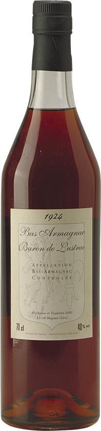 Armagnac 1924 Baron de Lustrac (3913)