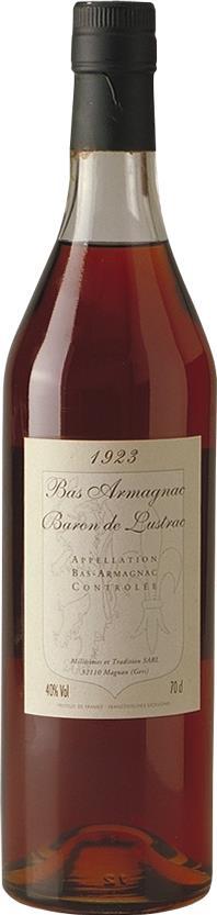 Armagnac 1923 Baron de Lustrac (3917)