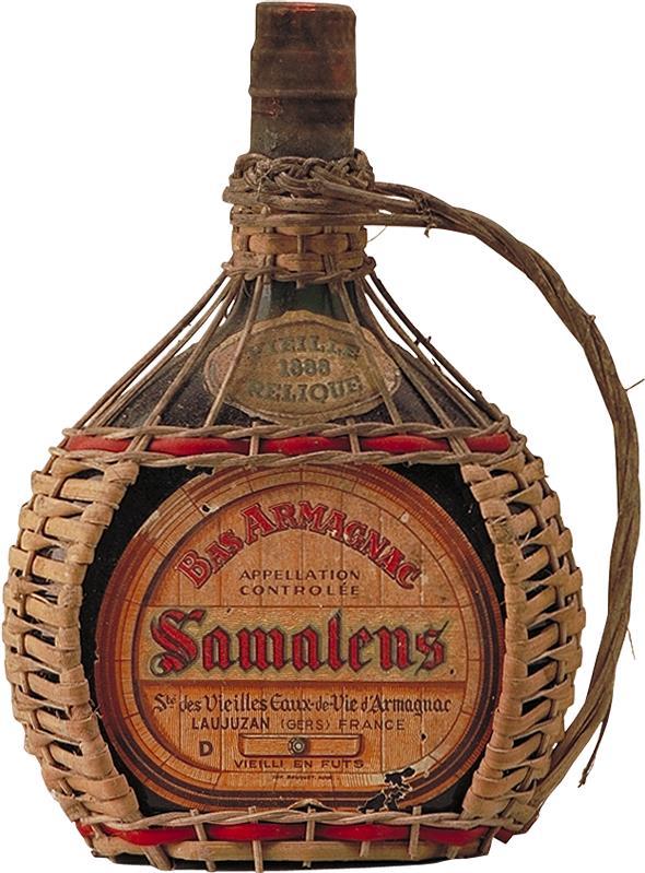Armagnac 1888 Samalens, St. des Vieilles Eaux-de-Vie d'Armagnac (1286)