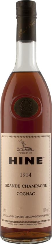 Cognac 1914 Hine & Co T. OWC