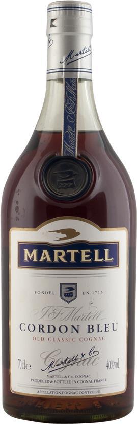 Cognac Martell J & F. Cordon Bleu