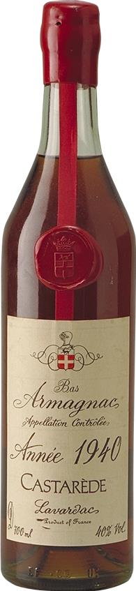 Armagnac 1940 Castarède (3963)