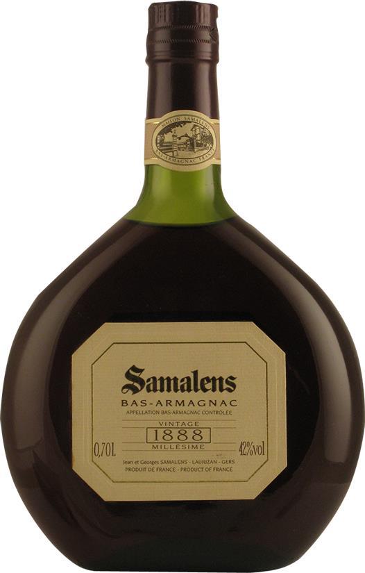 Armagnac 1888 Samalens, Bas-Armagnac (20113)