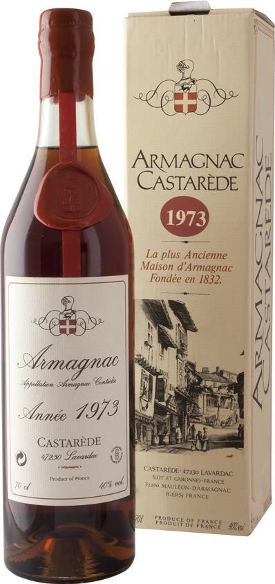 Armagnac 1973 Castarède (3986)