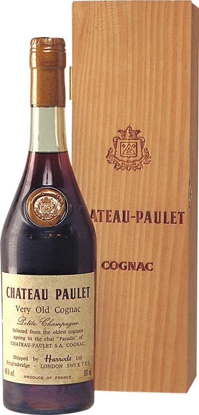 Cognac Château Paulet Paradis Petite Champagne