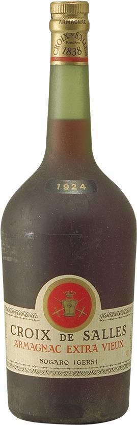 Armagnac 1924 Croix de Salles 1.5L (4035)