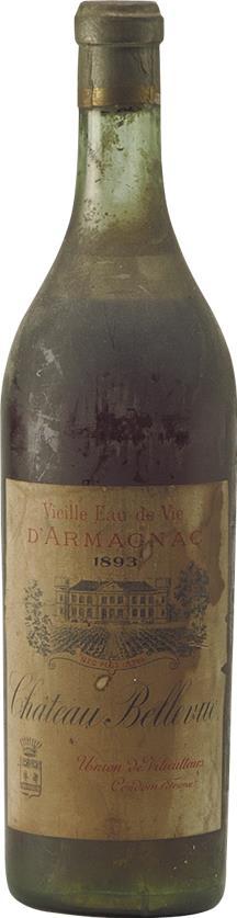 Armagnac 1893 Château Bellevue (1295)