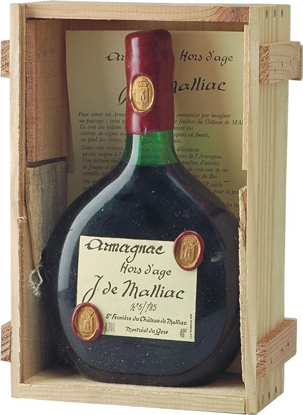 Armagnac NV Malliac (4070)