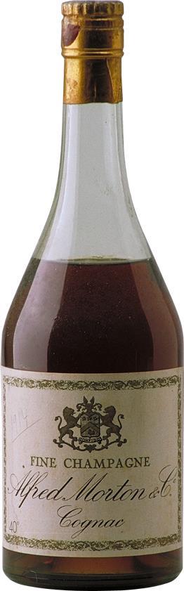 Cognac 1914 Alfred Morton & Co (4146)