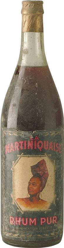Rum Pur La Martiniquaise 1940s (4154)