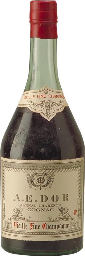 Cognac 1893 A.E. DOR No. 1 Vieille Fine Champagne (4158)