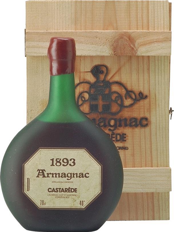 Armagnac 1893 Castarède (4167)