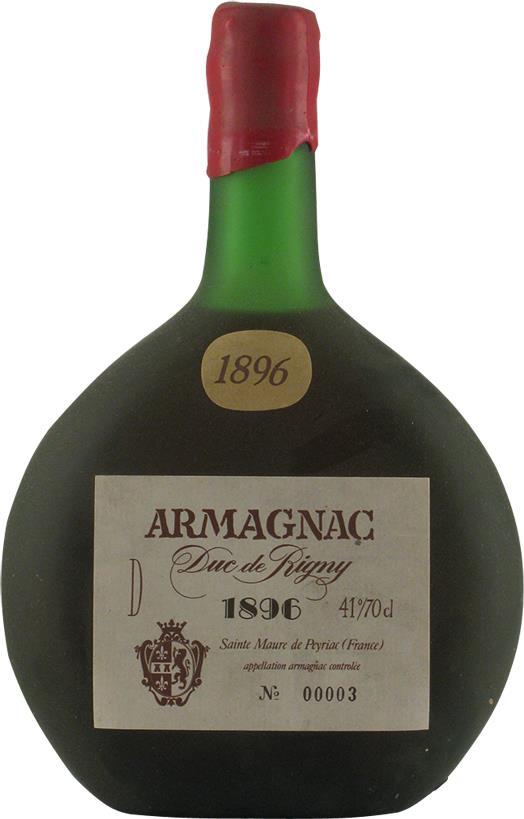 Armagnac 1896 Due de Rigny