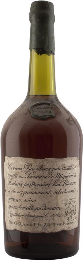 Armagnac 1959 Gelas & Fils B. (4189)