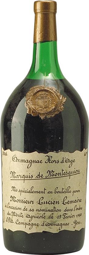 Armagnac 1960 Marquis de Monstesquiou (4209)