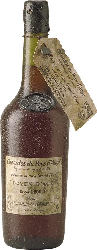 Calvados Roger Groult 70 Years Old (4228)