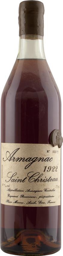 Armagnac 1922 Saint Christeau (4239)