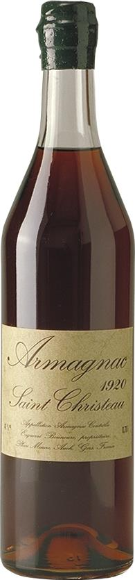 Armagnac 1920 Saint Christeau (4241)