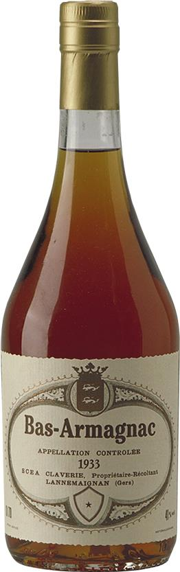 Armagnac 1933 Claverie (4282)