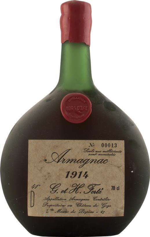 Armagnac 1914 Ferté G. & H. (4284)