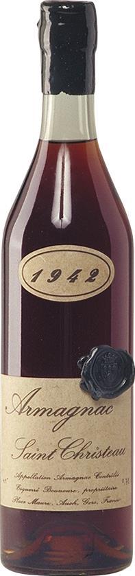 Armagnac 1942 Saint Christeau (4286)