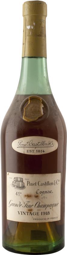 Cognac 1918 Pinet Castillon Fine Champagne (4291)