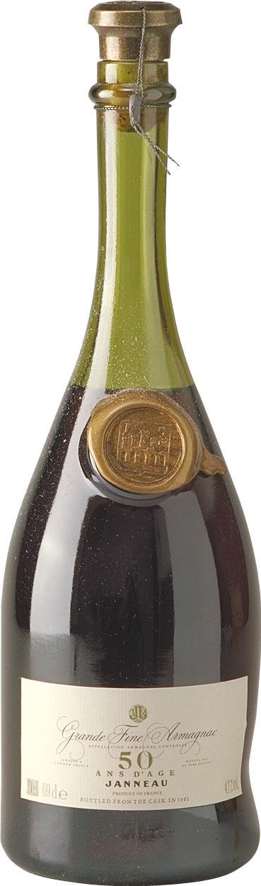 Armagnac Janneau 50YO (4400)
