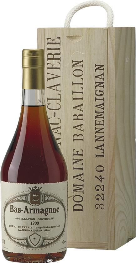 Armagnac 1900 Claverie (4405)