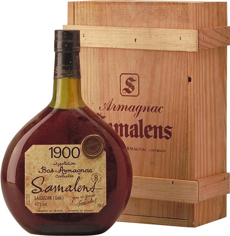 Armagnac 1900 Samalens (4406)