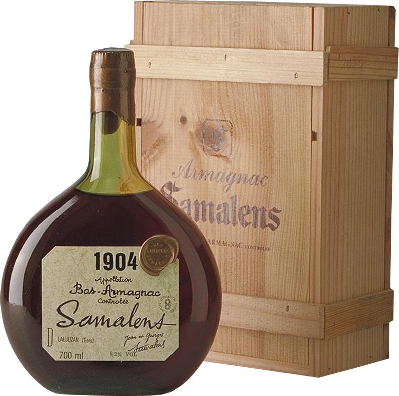 Armagnac 1904 Samalens (4407)