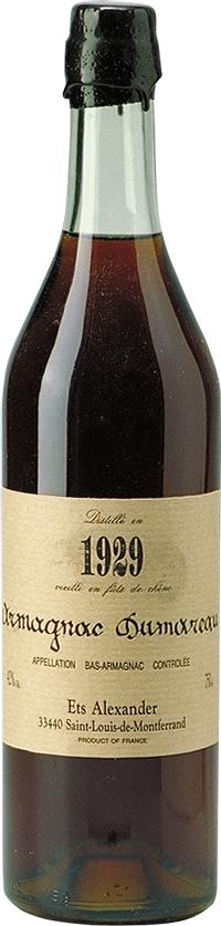 Armagnac 1929 Dumoureau (4422)