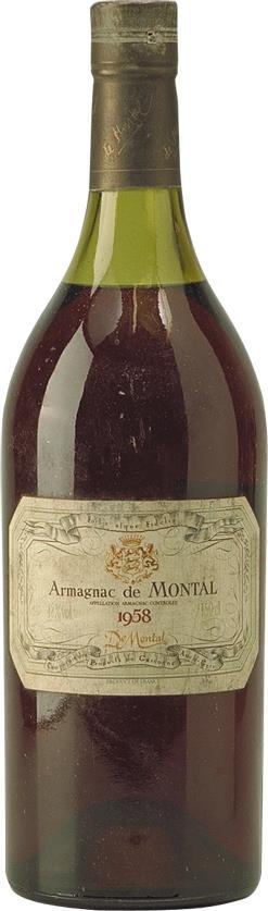 Armagnac 1958 De Montal (4427)
