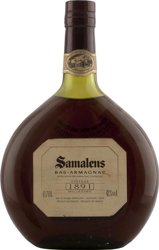 Armagnac 1891 Samalens 700ml (4438)
