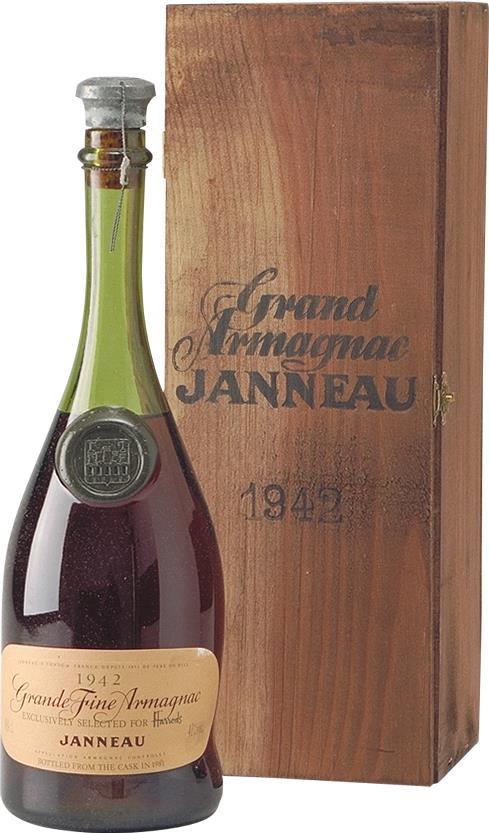 Armagnac 1942 Janneau Millesime