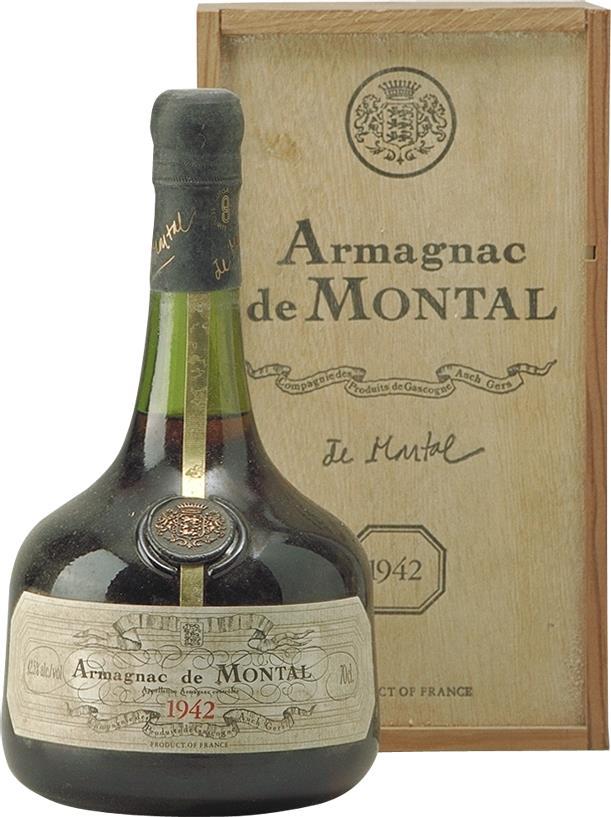 Armagnac 1942 De Montal (4459)