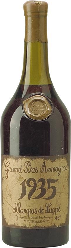 Armagnac 1935 Marquis de Luppé (4462)